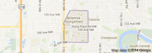 Britannia Youngstown Edmonton Homes for Sale