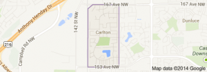Carlton Edmonton Homes for Sale