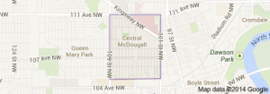 Central McDougall Edmonton Homes for Sale